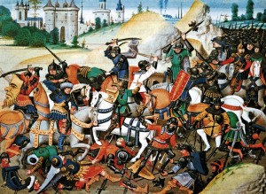 The Conquest of Antioch by the Crusaders