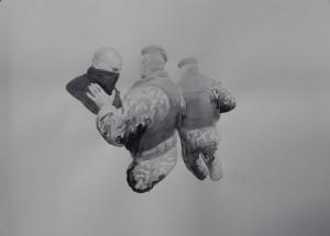 """Никита Кадан, из серии """"Контролируемые случайности"""", акварель, 2013"""