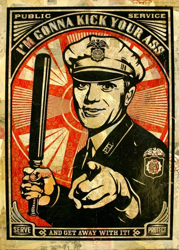 Shepard-Fairey-Police-Brutality