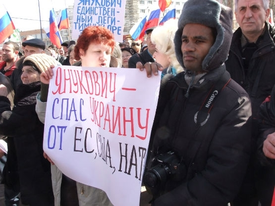 Член латвийского НБП Айо Бенес, проживавший в Англии. Приехал в Донецк ради борьбы против ЕС